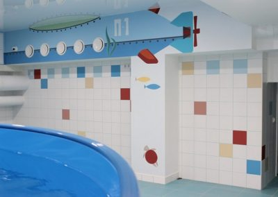 большой бассейн слева